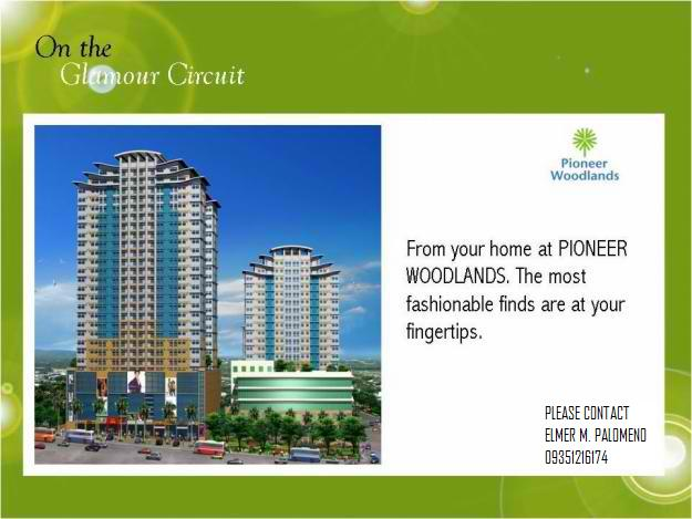 Pioneer Woodlands Condominium As Low As 8k A Month Invest